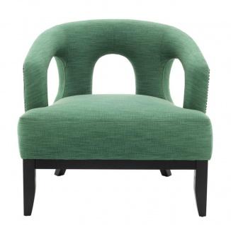Casa Padrino Luxus Designer Sessel - Hotel Sessel Möbel - Vorschau 2