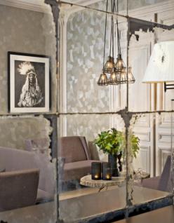 Casa Padrino Luxus Art Deco Designer Couchtisch aus versteinertem ...