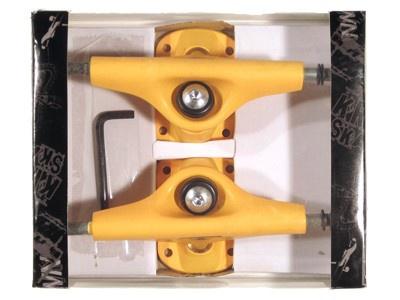 Krown Skateboard Achsen Set 5.0 orange (2 Achsen)