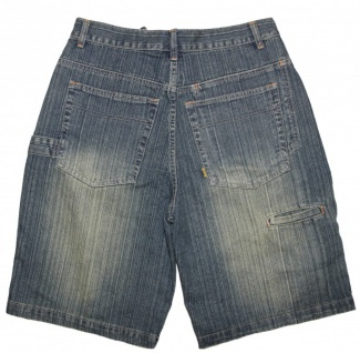 Victorious Skateboard Herren Jeans Shorts Dirty Washed