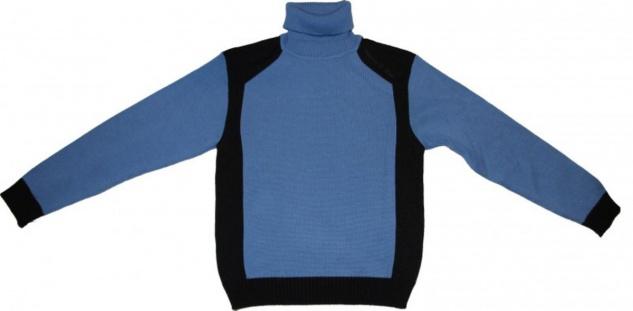 Freeman T Porter Skatewear Pullover Sley Sky Blue/Navy Sweater