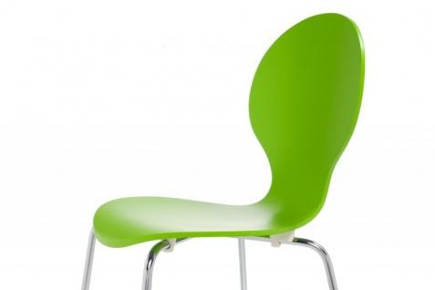 Casa Padrino Designer Stuhl Form Grün 8579 - Vorschau 4