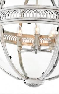 casa padrino barock h ngeleuchte vernickelt kugel silber durchmesser 60 cm h he 88 cm barock. Black Bedroom Furniture Sets. Home Design Ideas