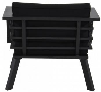 Casa Padrino Gartenmöbel Set mit Polsterung + Sessel + Tisch - Lounge Set - Vorschau 5