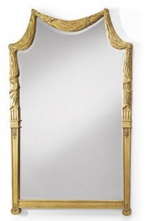 CPBlack Luxus Barock Spiegel by Casa Padrino Gold - Edel & Prunkvoll