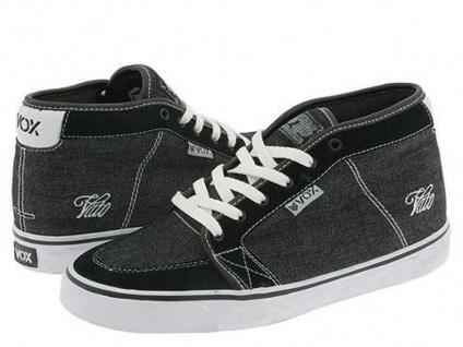 Vox Skateboard Skateboard Vox Schuhe Vato schwarz/Weiß Jeans 142eb4