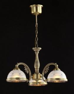 Casa Padrino Barock Decken Kronleuchter Kupfer 49, 5 x H 31 cm Antik Stil - Möbel Lüster Leuchter Hängeleuchte Hängelampe