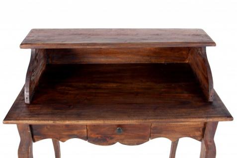 Casa Padrino Barock Sekretär aus Mahagoni coffee, Breite 80 cm - Barock Rokoko Stil - Vorschau 2