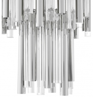 Casa Padrino Luxus Kronleuchter Silber Durchmesser 57 x H. 88 cm - Hotel Möbel - Vorschau 4