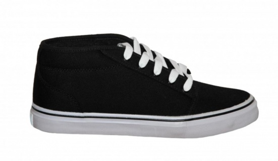 Adio Skateboard Schuhe Sydney Mid Black /White Sneakers Shoes