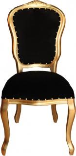 Barock Luxus Esszimmer Stuhl Louis - Hotel & Restaurant Bestuhlung - ALLE FARBEN -