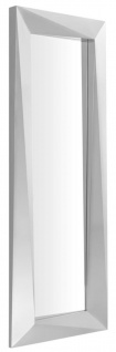 Casa Padrino Luxus Spiegel / Wandspiegel Silber 80 x H. 220 cm - Luxus Qualität