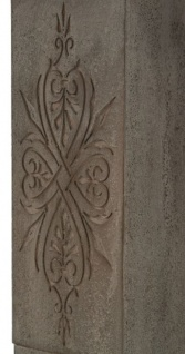 Casa Padrino Landhausstil Kaminumrandung Antik Graubraun 113 x 19 x H. 101 cm - Handgefertigte Shabby Chic Möbel - Vorschau 4