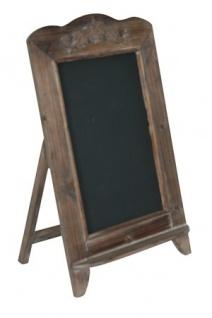 Casa Padrino Barock Schultafel mit Ständer, Schreibtafel aus Holz, Antik-Look, braun