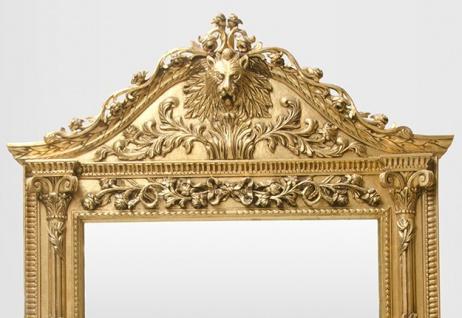 Gigantischer Casa Padrino Barock Spiegel Löwe Gold H 270 cm B 165 cm - Edel & Prunkvoll - Vorschau 2