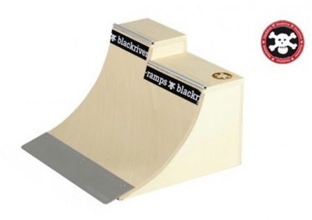 Blackriver Ramps Fingerboard Rampe Extension Quarter - Holz Fingerboard Rampe