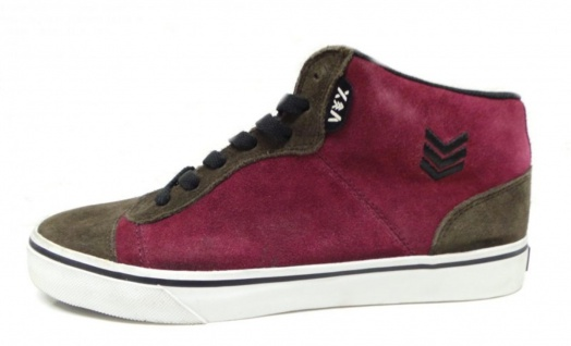 Vox Skateboard Schuhe Upgrade Bordo/ Brown