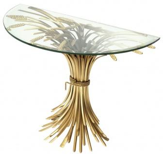 Casa Padrino Luxus Konsole Antik Gold 90 x 45 x H. 76 cm - Designer Konsolentisch - Vorschau 3