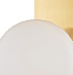 Casa Padrino Luxus LED Wandleuchte Antik Messingfarben / Weiß 19, 1 x 16, 5 x H. 32, 4 cm - Hotel & Restaurant Lampe - Vorschau 2