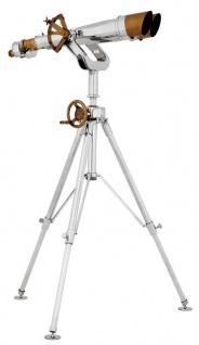 Casa Padrino Designer Doppelteleskop 96 x 125 x H. 152-205 cm - Luxus Qualität