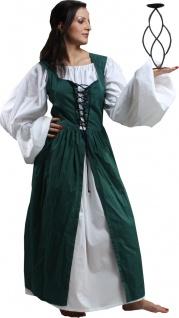 Ameline Peasant Renaissance Kleid - Green