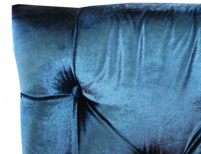 Casa Padrino Barock Esszimmer Stuhl Türkis / Silber - Designer Stuhl - Luxus Qualität Hochlehnstuhl Hochlehner - Vorschau 3