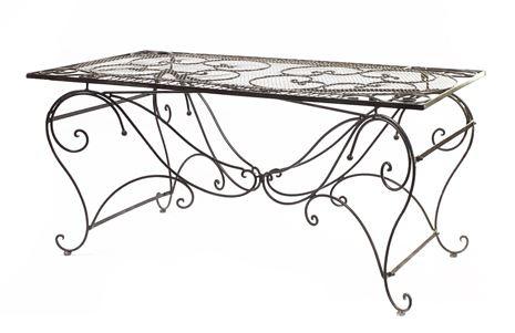 Casa Padrino Garten Esstisch Antik Braun Durchmesser B 159 cm, H 79, 5 cm - Art Deco Möbel