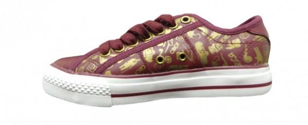 Circa Skateboard Schuhe BISLW Bordo/White Hohe Qualität