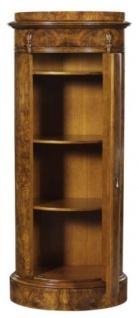 Casa Padrino Luxus Jugendstil Kommode mit Tür Hellbraun 62 x 39 x H. 145 cm - Barock & Jugendstil Möbel - Vorschau 4