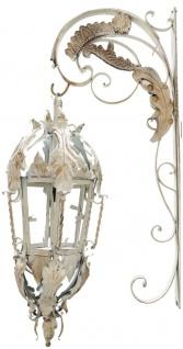 Casa Padrino Barock Wandleuchte Creme 36 x 60 x H. 115 cm - Leuchten & Lüster im Barockstil