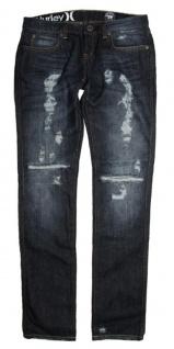 Hurley Skateboard Damen Jeans 81 Skinny Dark Blue