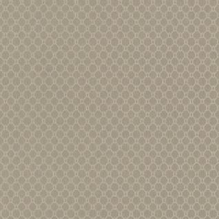 Casa Padrino Luxus Stofftapete Beige / Creme / Grau / Silber - 10, 05 x 0, 53 m - Textiltapete mit leicht strukturierter Oberfläche