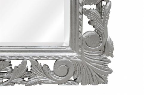 Casa Padrino Barock Spiegel Silber Handgefertigt 193 x 110 cm - Holzspiegel - Barock Möbel - Vorschau 3