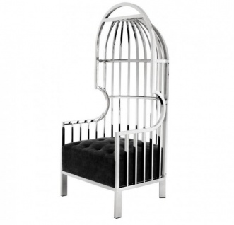 Casa Padrino Luxus Designer Art Deco Salon Sessel - Luxus Kollektion