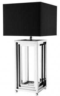 Casa Padrino Luxus Wohnzimmer Tischlampe / Tischleuchte - Designer Kollektion