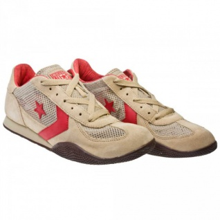 Converse Schuhe Targa OX Khaki/Red/Choc Trainers Skateboard Shoes Sneaker Sneakers