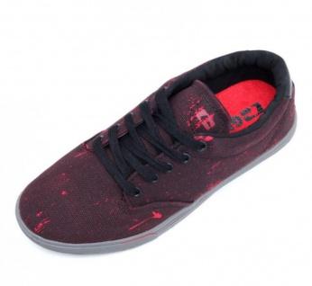 Globe Skateboard Schuhe Lighthouse Slim Black/Red Bleed Beliebte Schuhe