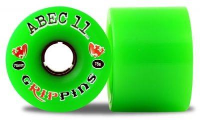 ABEC 11 Longboard Rollen Set Grippins 78A 70mm (4Stück)