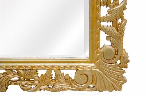Casa Padrino Barock Spiegel Gold Handgefertigt 193 x 110 cm - Holzspiegel - Barock Möbel - Vorschau 4