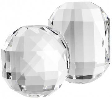 Casa Padrino Luxus Kristallglas Deko Objekte Set - Hotel Restaurant Wohnzimmer Büro Dekoration