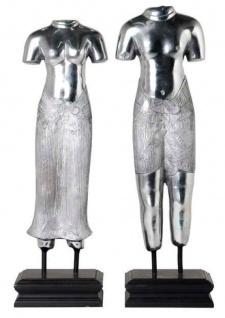 Casa Padrino Luxus Wohnzimmer Dekoration Thai Mann & Frau - Limited Edition