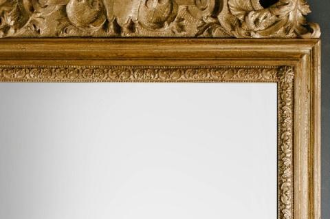 Casa Padrino Barock Spiegel Gold 93 x H. 207 cm - Prunkvoller handgefertigter Wandspiegel mit wunderschönen Verzierungen - Vorschau 2