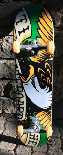 Anti Hero Skateboard Komplettboard Bleed Medium 7.75 inch - Skateboard Complete - 1B Ware mit Lagerspuren