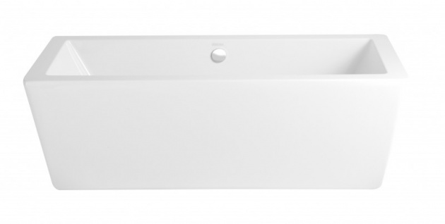 Casa Padrino Art Deco Badewanne freistehend Weiß Modell He-Hea 1735mm - Freistehende Retro Antik Badewanne Barock - Vorschau 1