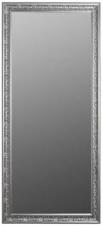 Casa Padrino Barock Spiegel Silber 72 x H. 162 cm - Handgefertigter Barock Wandspiegel