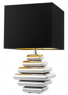 Casa Padrino Designer Tischleuchte 24, 5 x 35 x H. 62 cm - Luxus Qualität