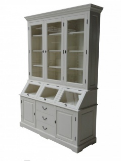 Shabby Chic Landhaus Stil Schrank Buffetschrank 160 x 50 x 210 cm Mod5 - Schrank Esszimmer