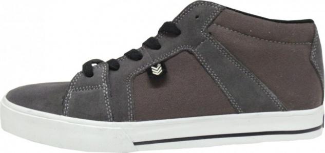 Vox Skateboard Schuhe Vamp Mid Charcoal Brown