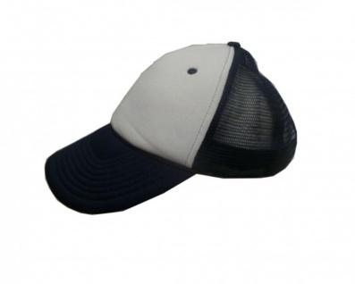 Mesh Trucker Cap Dark Blue/White Skateboard BMX Surf Cap
