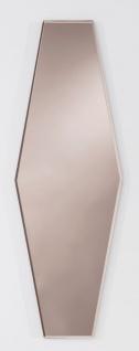 Casa Padrino Designer Spiegel Bronze 27 x H. 80 cm - Designer Kollektion